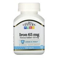 21st Century Iron 65 mg, 120 таб