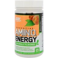 Optimum Nutrition Essential AMIN.O. ENERGY Naturally Flavored, 225 гр