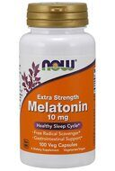 Melatonin 10 mg NOW (100 вег кап)
