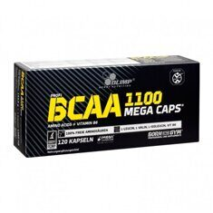 Olimp Labs BCAA 1100 Mega Caps, 120 капс