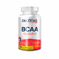 Be First BCAA Capsules, 500 мг, 120 капс