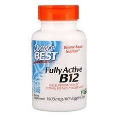 Doctor's Best Fully Active B12, 1500 мкг, 60 капс