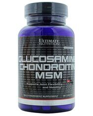 Ultimate Nutrition Glucosamine-Chondroitin-MSM